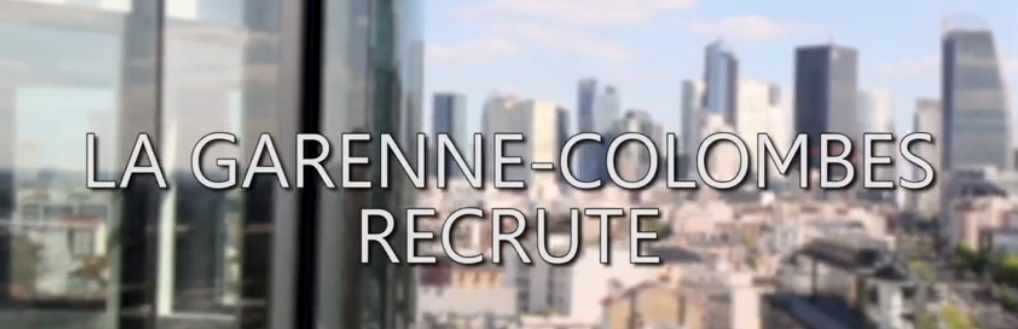 ville garenne colombes 92 recrute