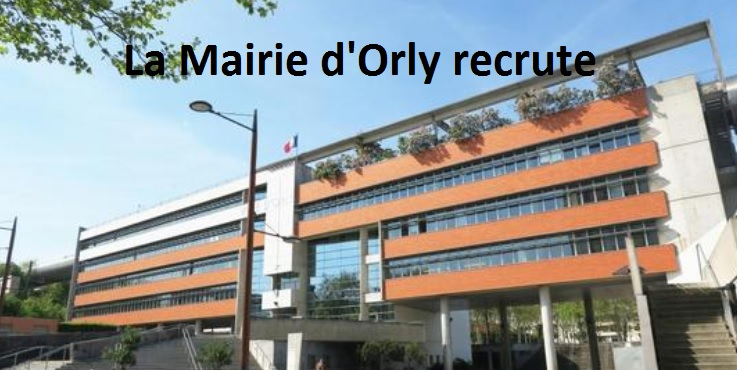 ville orly 94 recrute
