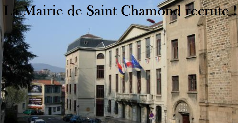 ville saint chamond 42 recrute