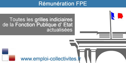 grille indiciaire FPE 2016