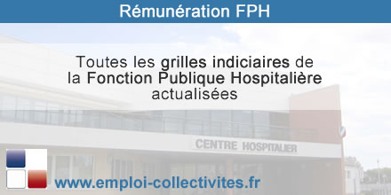 grille indiciaire FPH 2016